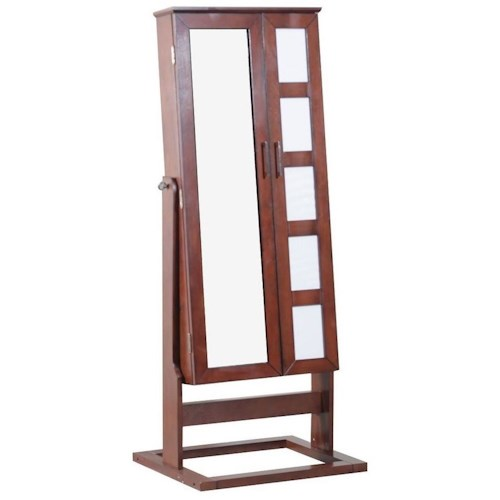 Powell Jewelry Armoire Full Length Cheval Style Photo Jewelry Armoire