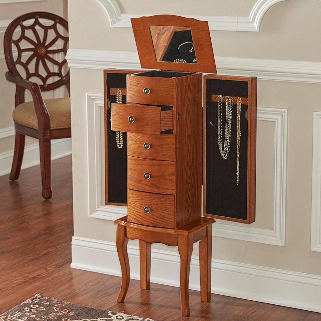 Jewelry armoire olivia jewelry armoire by powell
