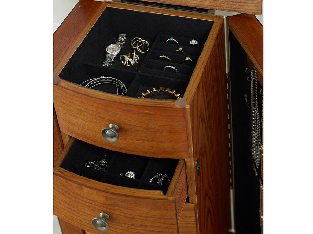 Powell Jewelry ArmoireOlivia Jewelry Armoire
