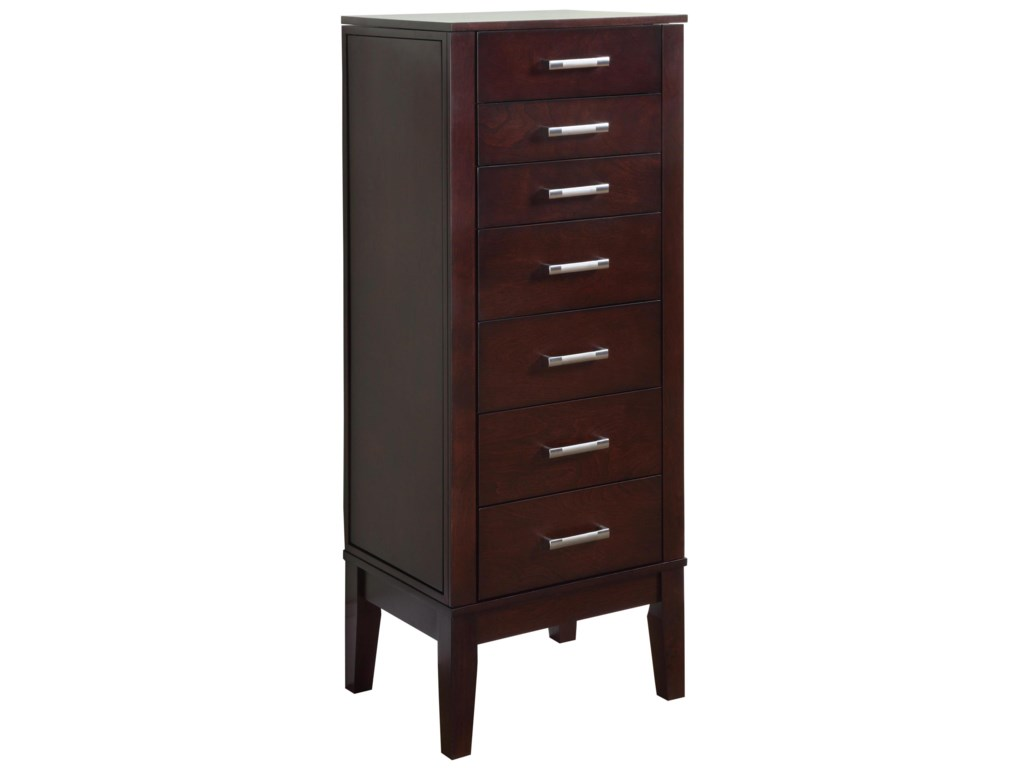 Powell  Contemporary Jewelry Armoire