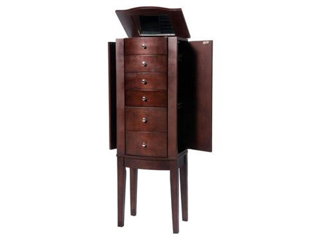 f1fb76f48 Home Bedroom Furniture Jewelry Armoires Powell Jewelry Armoire