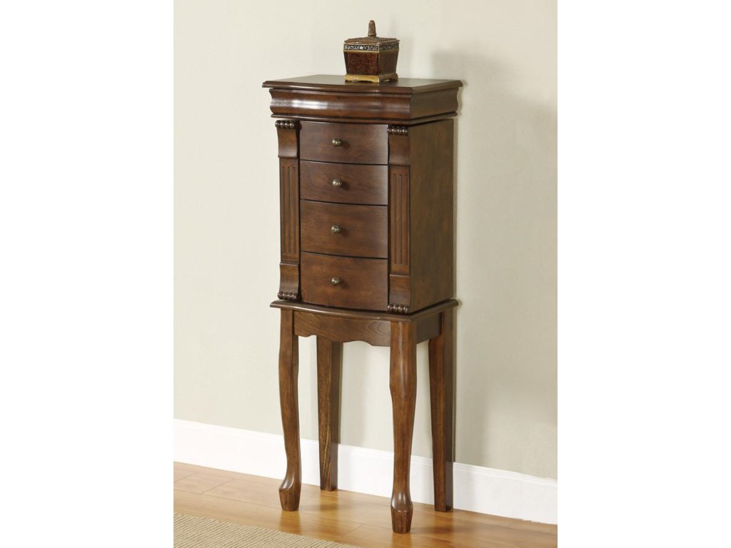 d506e8fee Powell Jewelry Armoire Louis Philippe