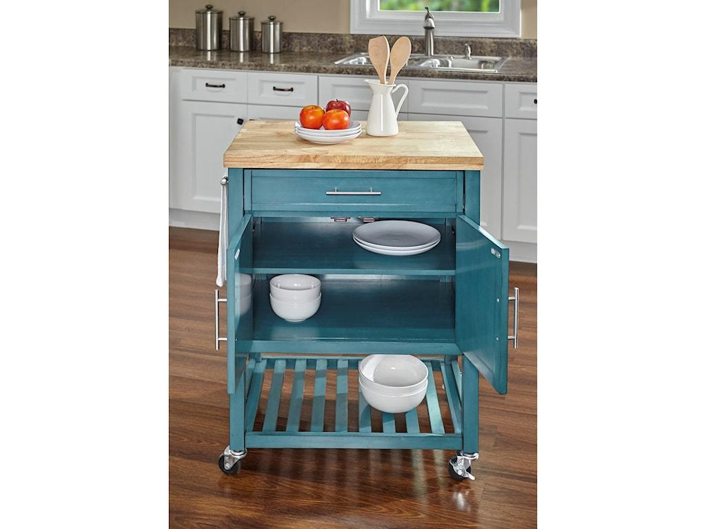 Powell Kitchen Butler Sydney Kitchen Cart | Colder\'s Furniture and ...