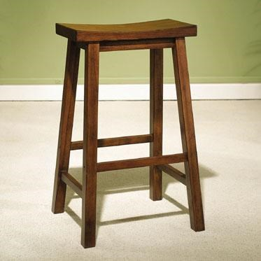 Powell Accents Honey Brown 29 Quot Bar Stool Wayside