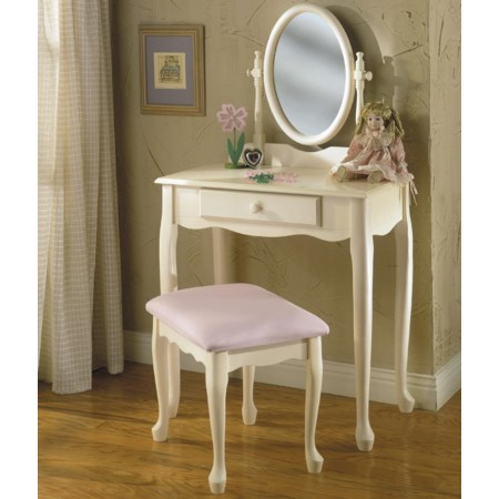 3 Piece Youth Vanity Set