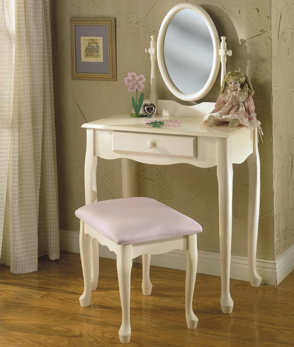 Exceptionnel Powell Vanities 3 Piece Youth Vanity Set