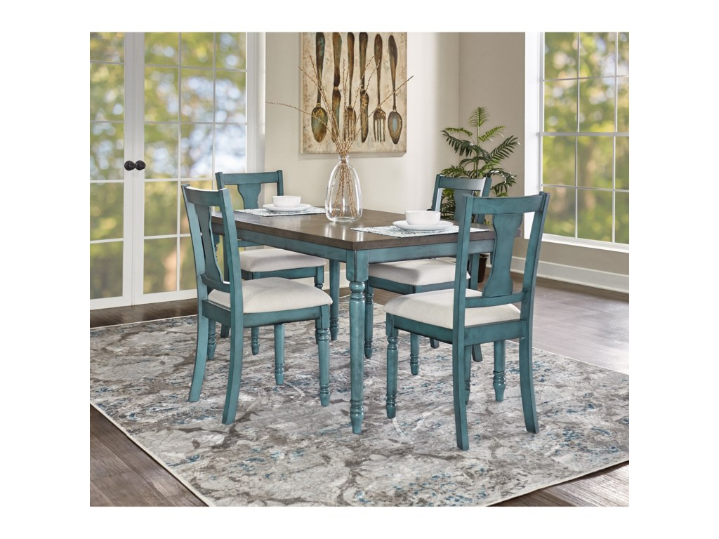 Powell Willow5-Piece Dining Set