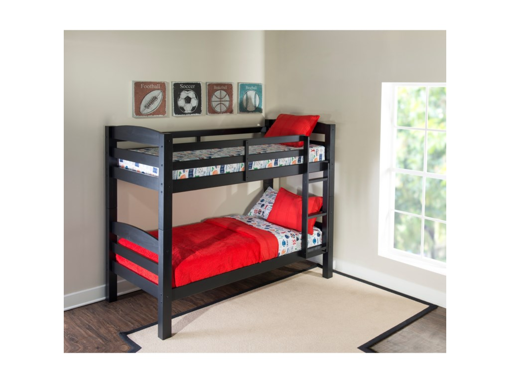 Powell Youth Beds And Bunks Twin Over Twin Porter Bunk Bed Wayside