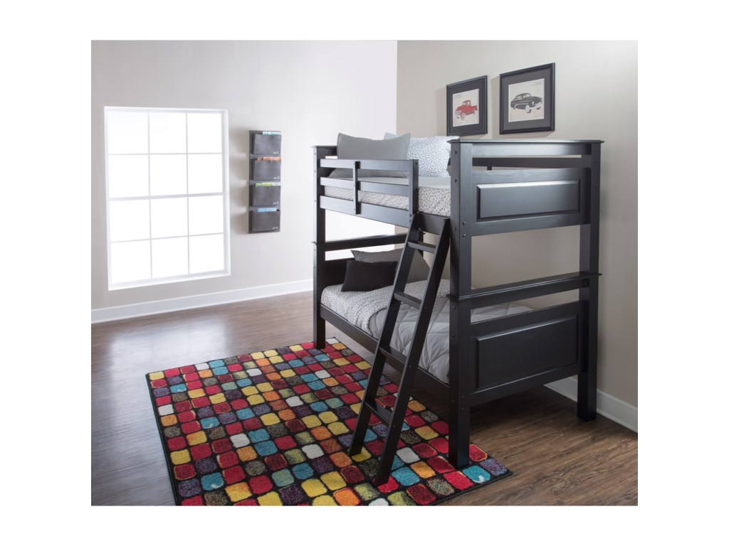 Powell Youth Beds And Bunks Dixon Twin Over Twin Bunk Bed Wayside