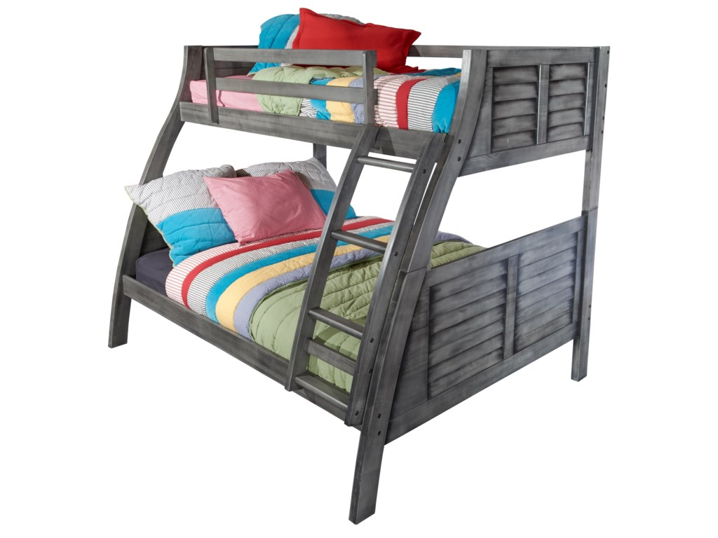 Powell Youth Beds and BunksTwin/Full Bunk Bed