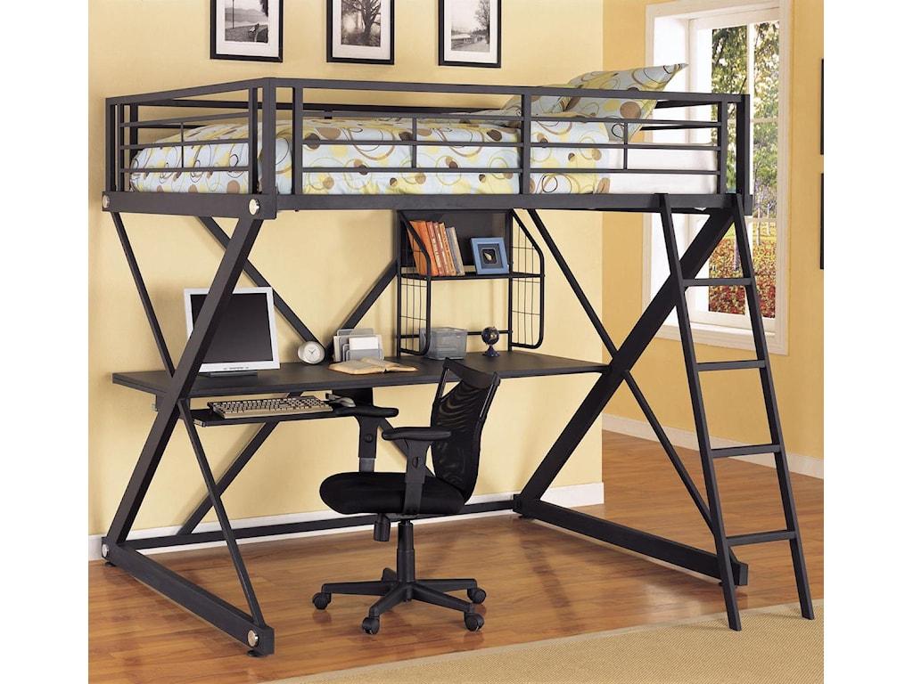 Powell Z BedroomFull Loft Bed