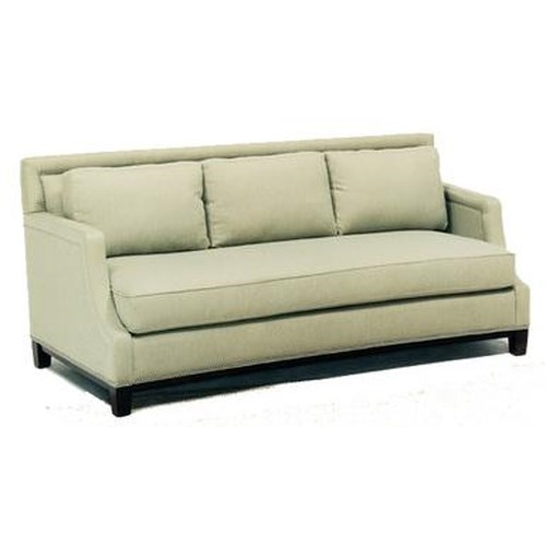 Precedent Accent Sofas Casual Stationary Sofa with Nailhead Trim