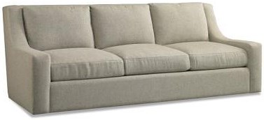 Precedent Accent Sofas Casual Sofa with Low Sloping Track Arms
