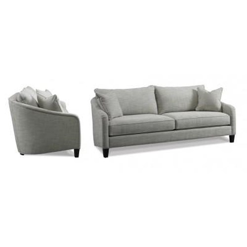 Precedent Accent Sofas Casual Loose Pillow Back Sofa