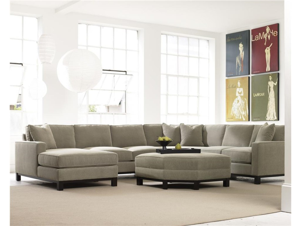 Precedent Urban Planning4 Piece Sectional