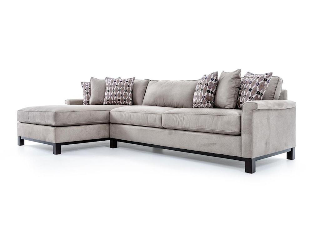 Precedent Urban PlanningCustomizable 2 Pc Sectional Sofa