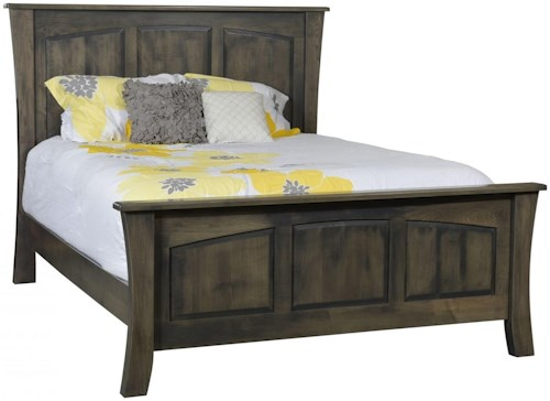 Rotmans Amish Greenbrier King Panel Bed