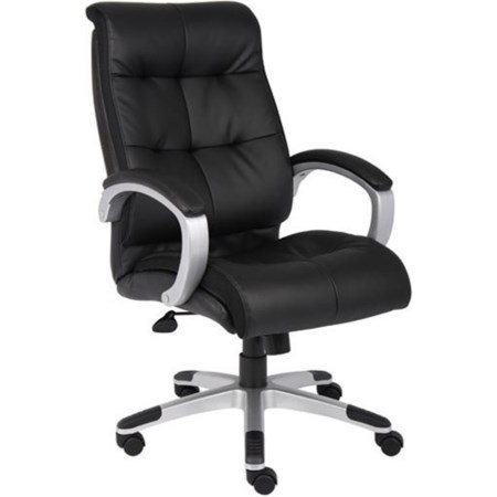 Tufted LeatherPlus Executive Chair