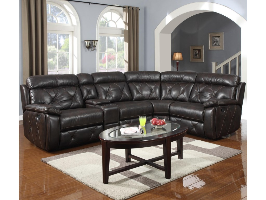 Prime Resources International 1660Reclining Sectional