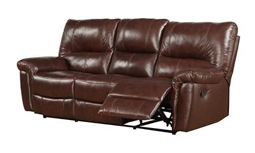 Prime Resources International 2408Reclining Leather Sofa