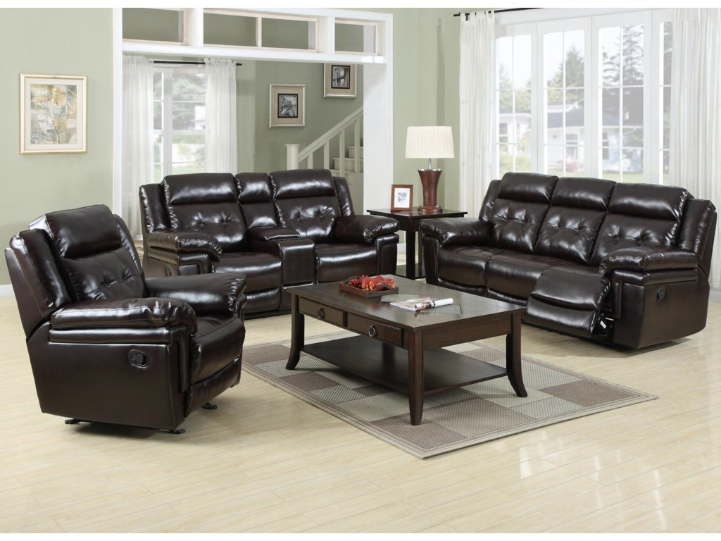 Prime Resources International 6500Reclining Living Room Group