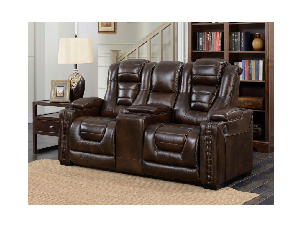 Prime Resources International Big ChiefPower Reclining Loveseat