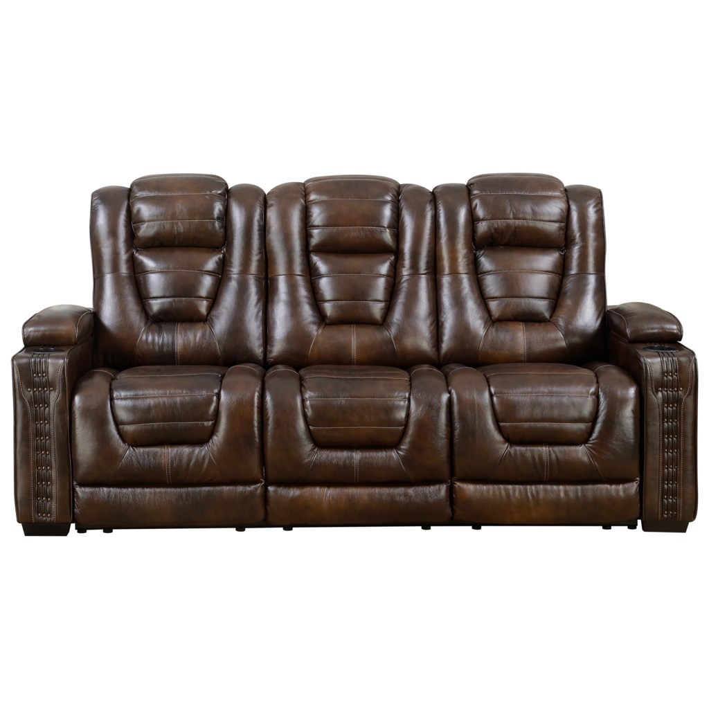Prime Resources International Big Chief Power Reclining Sofa With