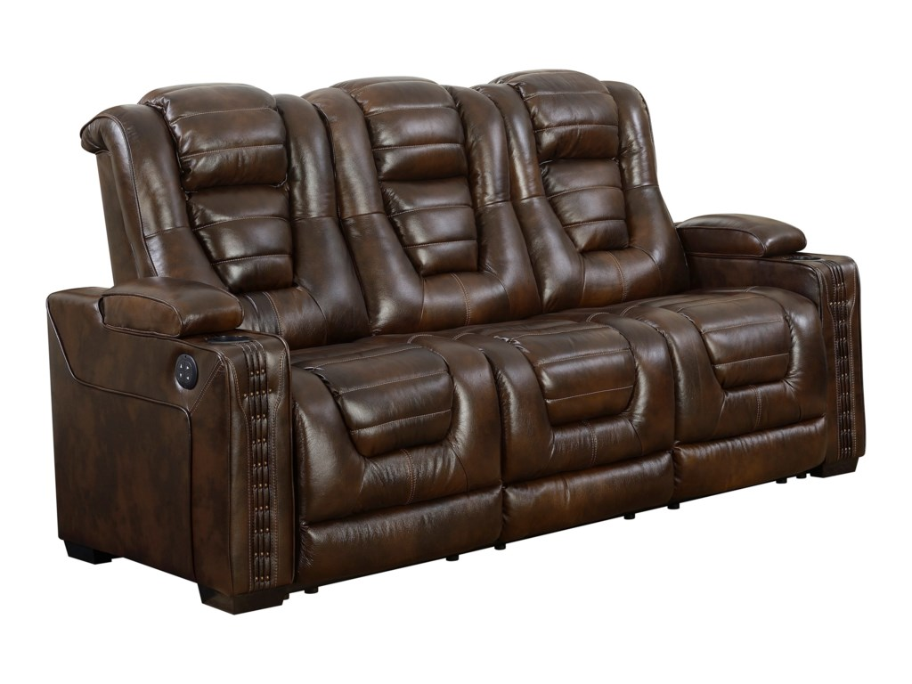 Prime Resources International Big ChiefPower Reclining Sofa