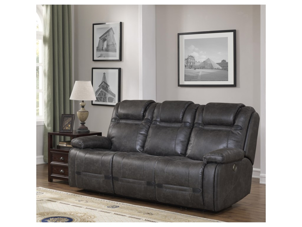 Prime Resources International Rebel Power Reclining Sofa With Drop