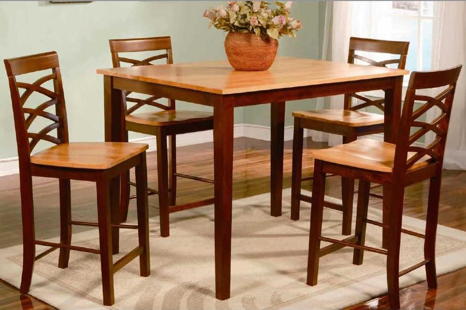 Primo International 1553Counter Height Table and Chairs