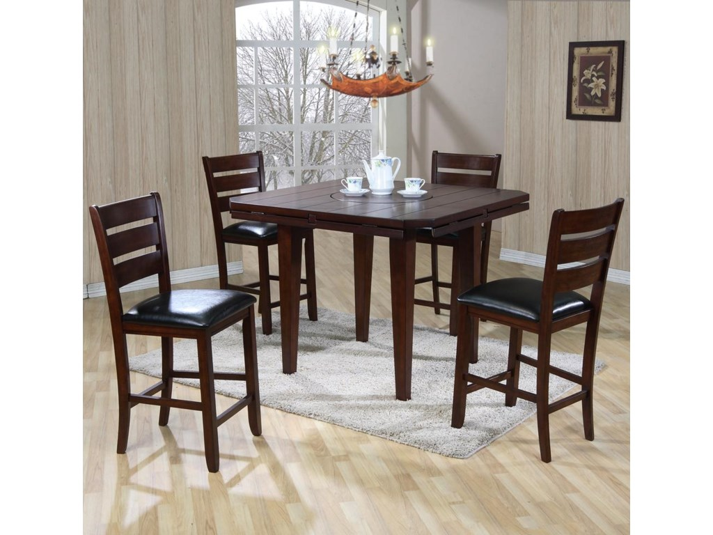 Primo International 4540Gathering Height Table & Chairs