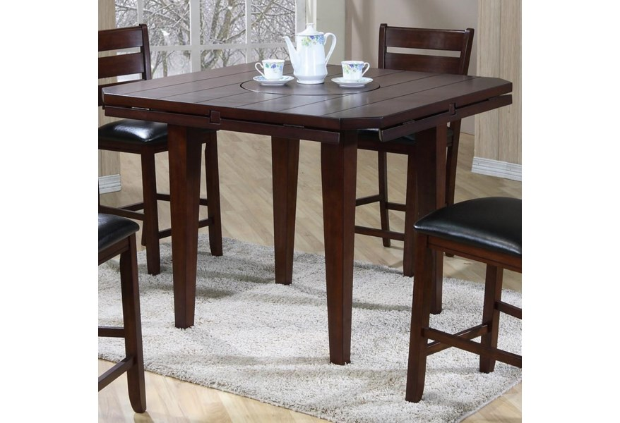 Primo International 4540 Drop Leaf Gathering Height Table