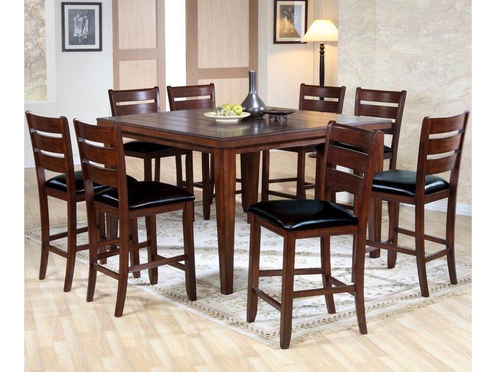 Primo International 4545Dining Table and Chairs