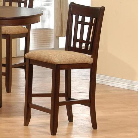 Primo International 4560Counter Height Table and Pub Chair Set