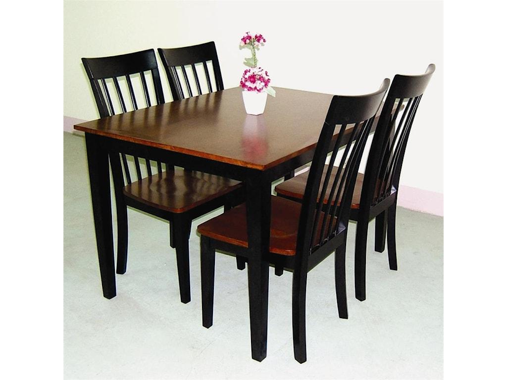 Primo International 551Table & Chair Set