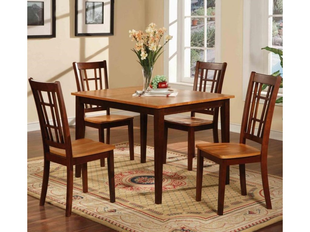 Primo International 552Table and 4 Chairs