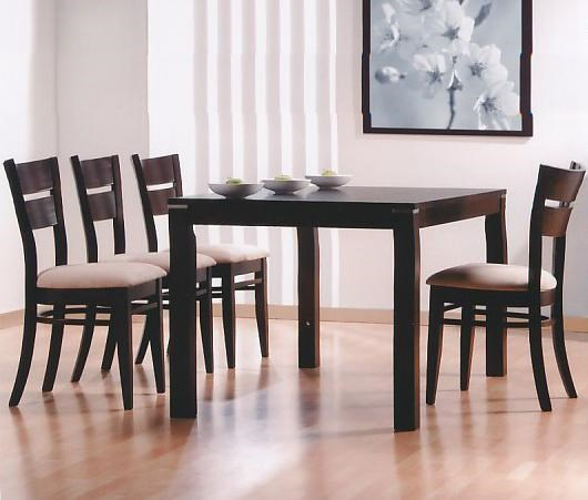 Primo International 6750Table and 4 Chairs