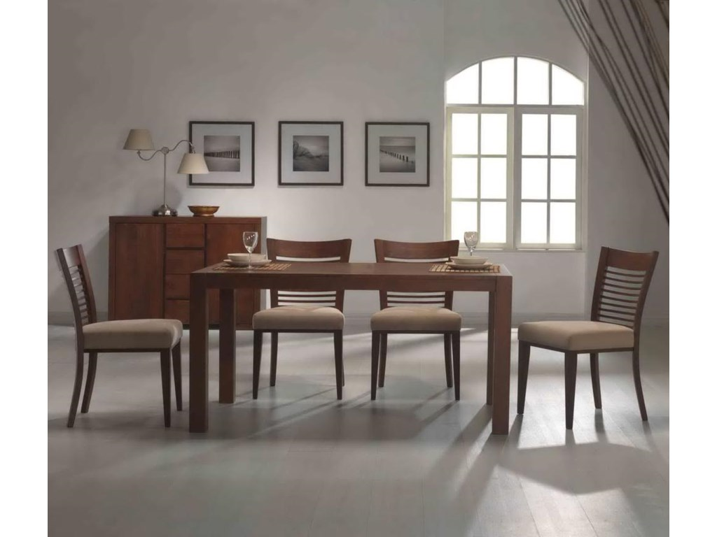 Primo International 6770Rectangle Table & Chair Set