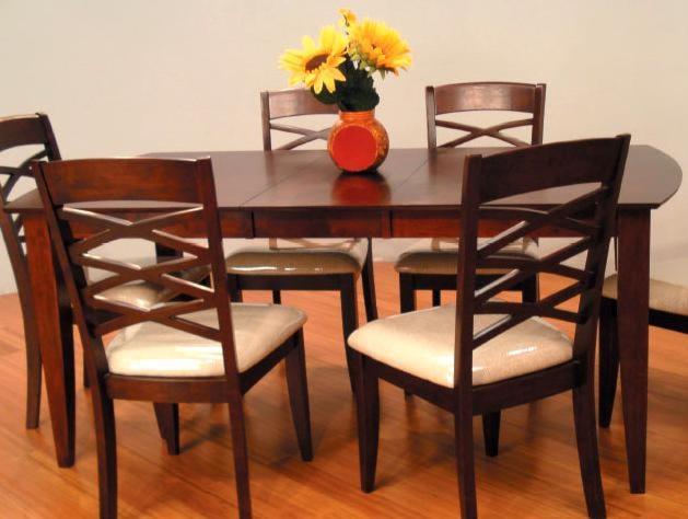 Primo International 8209Rectangular Leg Dining Table