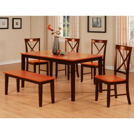 6 Piece Table & Chair Set