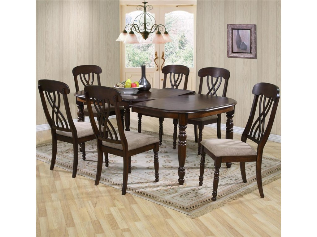 Primo International 9308Dining Table and Chair Set