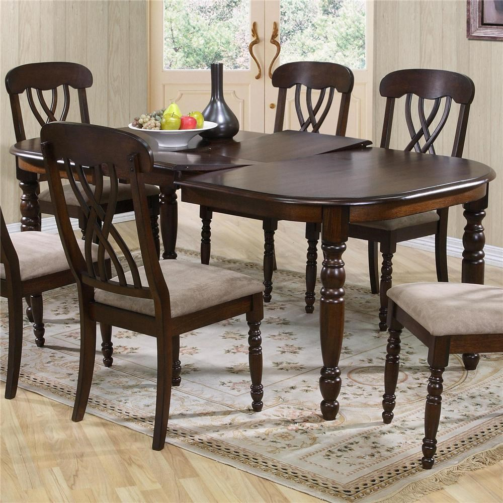 Primo International 9308 9308 Dintp Dining Table With 18 Inch Leaf