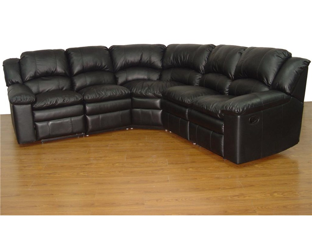 Primo International Bal Harbour 5 Piece Reclining Leather ...
