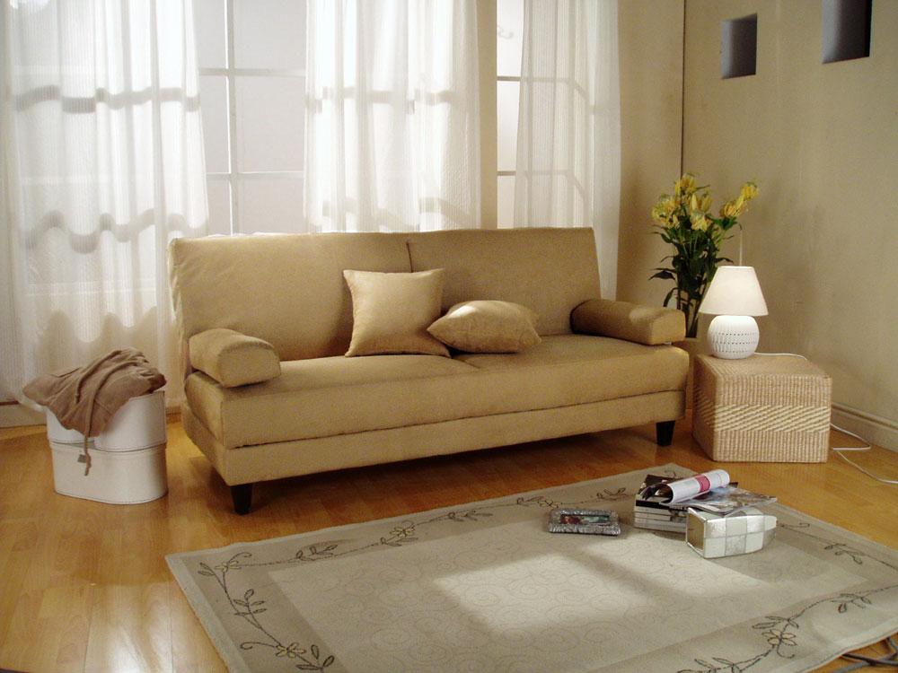 Primo International Klik Klaks Blizzard Klik Klak Futon Sofa Sleeper With  Storage