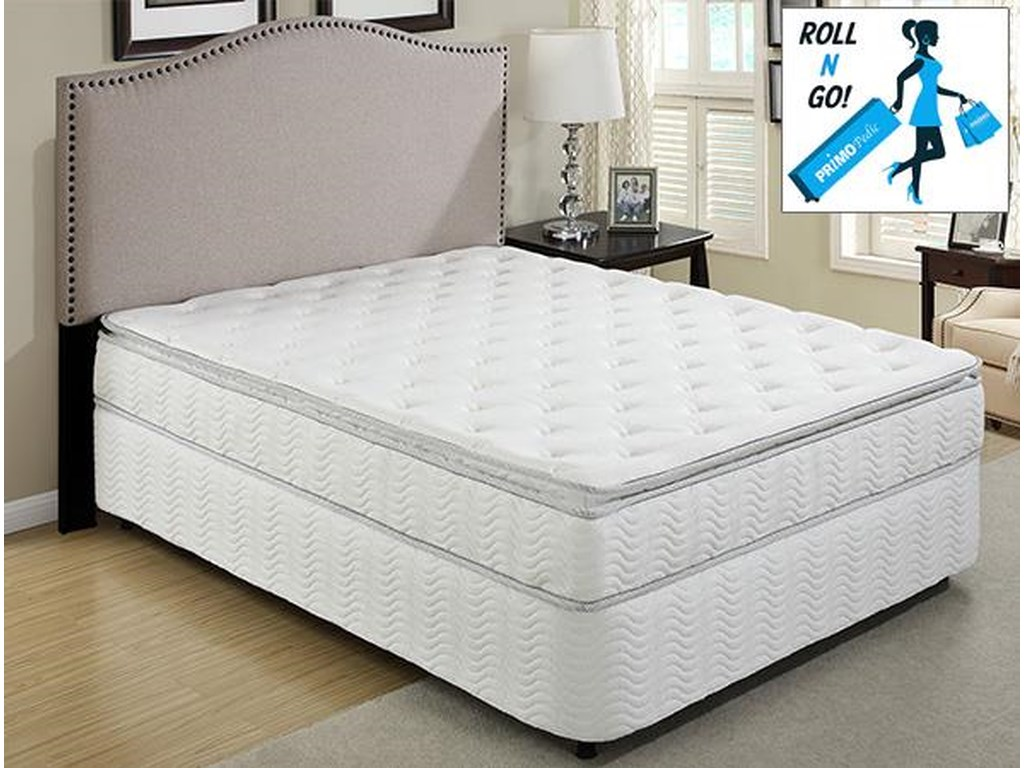 Primo International CosmosPillow Top Queen Sz Mattress with Foundation