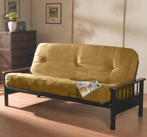 Primo International Futonz To Go Bismark Futon w/ Metal Frame