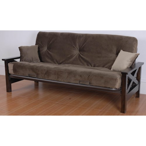 Primo International Futonz To Go Plush Griffith Futon With Super