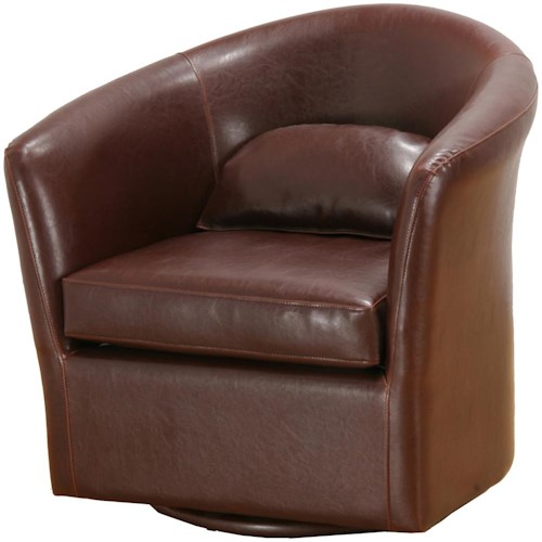 Primo International Morris Contemporary Tub Chair with Matching Pillow