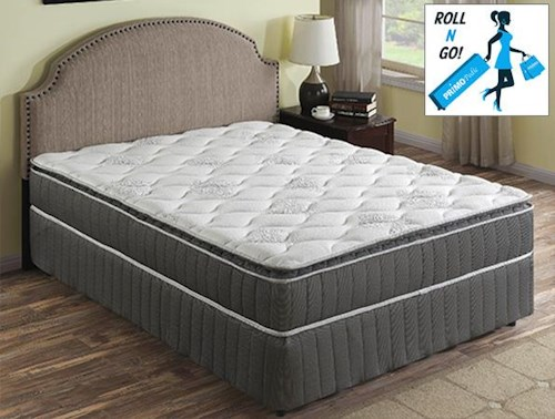 Primo International Orion Innerspring Queen Sz Mattress With Foundation