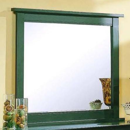 Private Reserve Millie (black) Beveled Glass Landscape Mirror